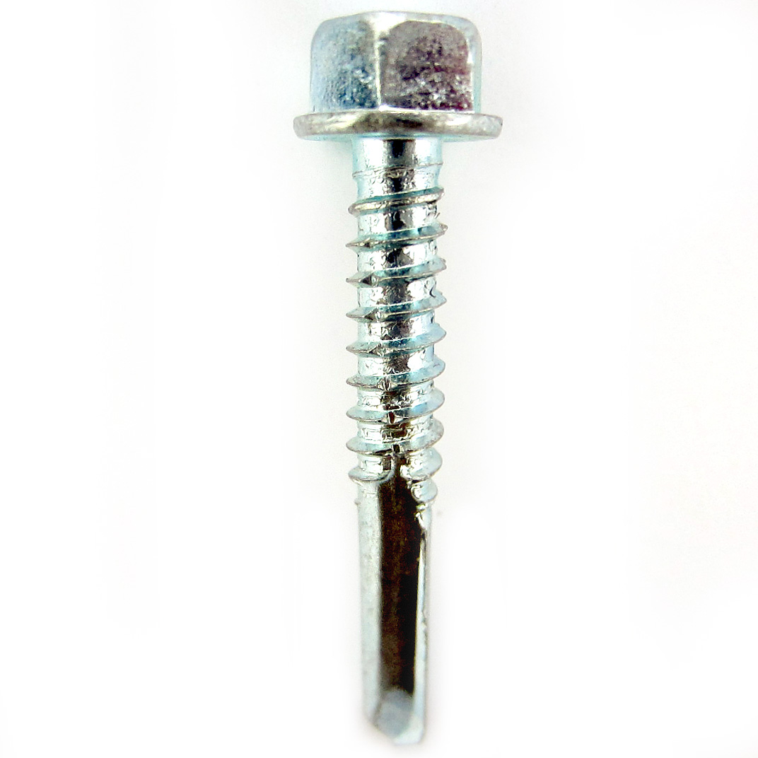 #5 / #6 DRILL POINT - A13. Heavy duty self drilling screw